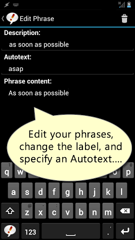 Autotext PhraseExpress picture