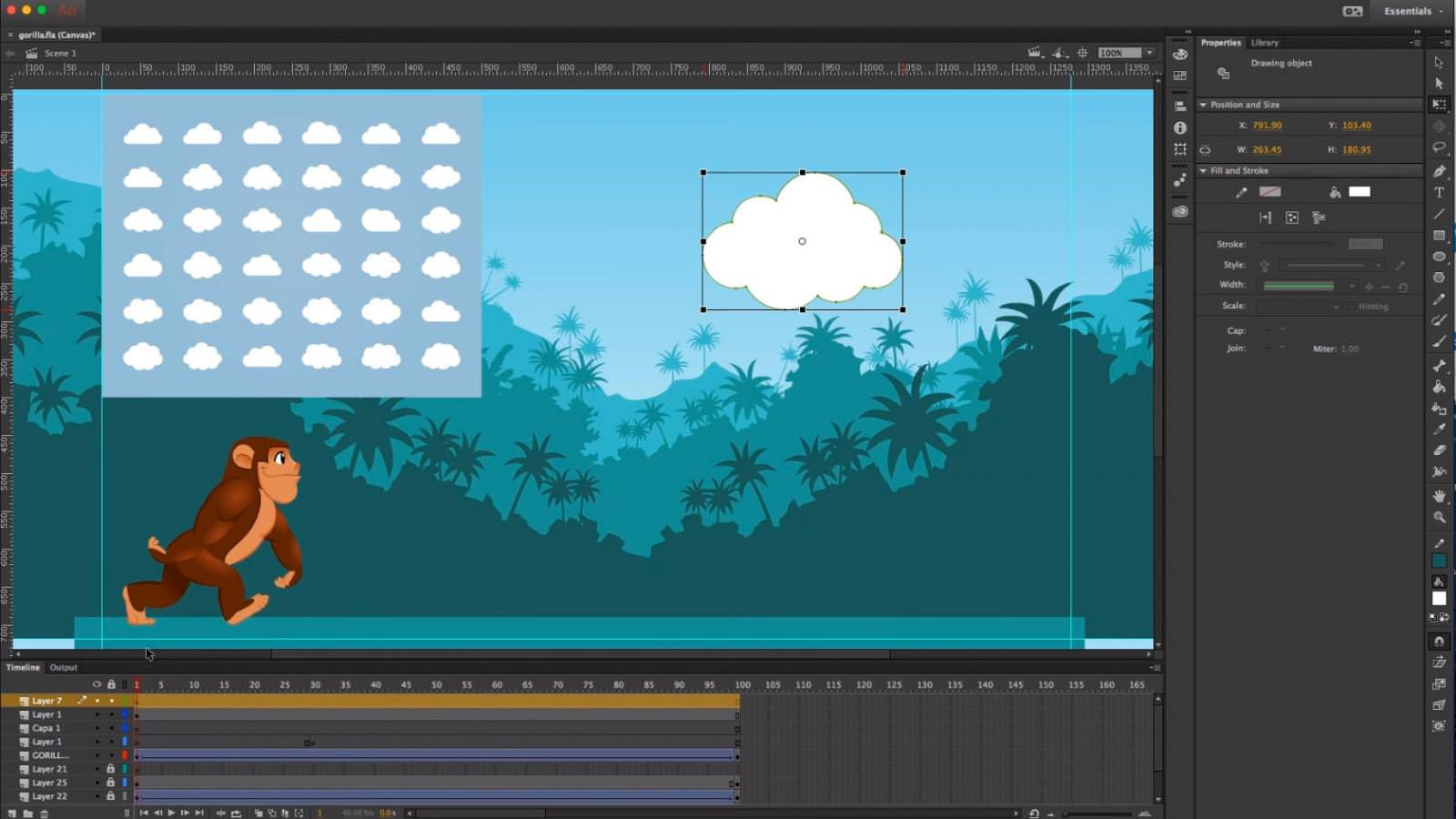 Adobe Animate CC for Mac picture