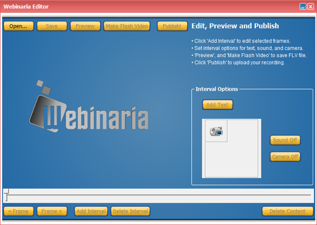Webinaria picture or screenshot