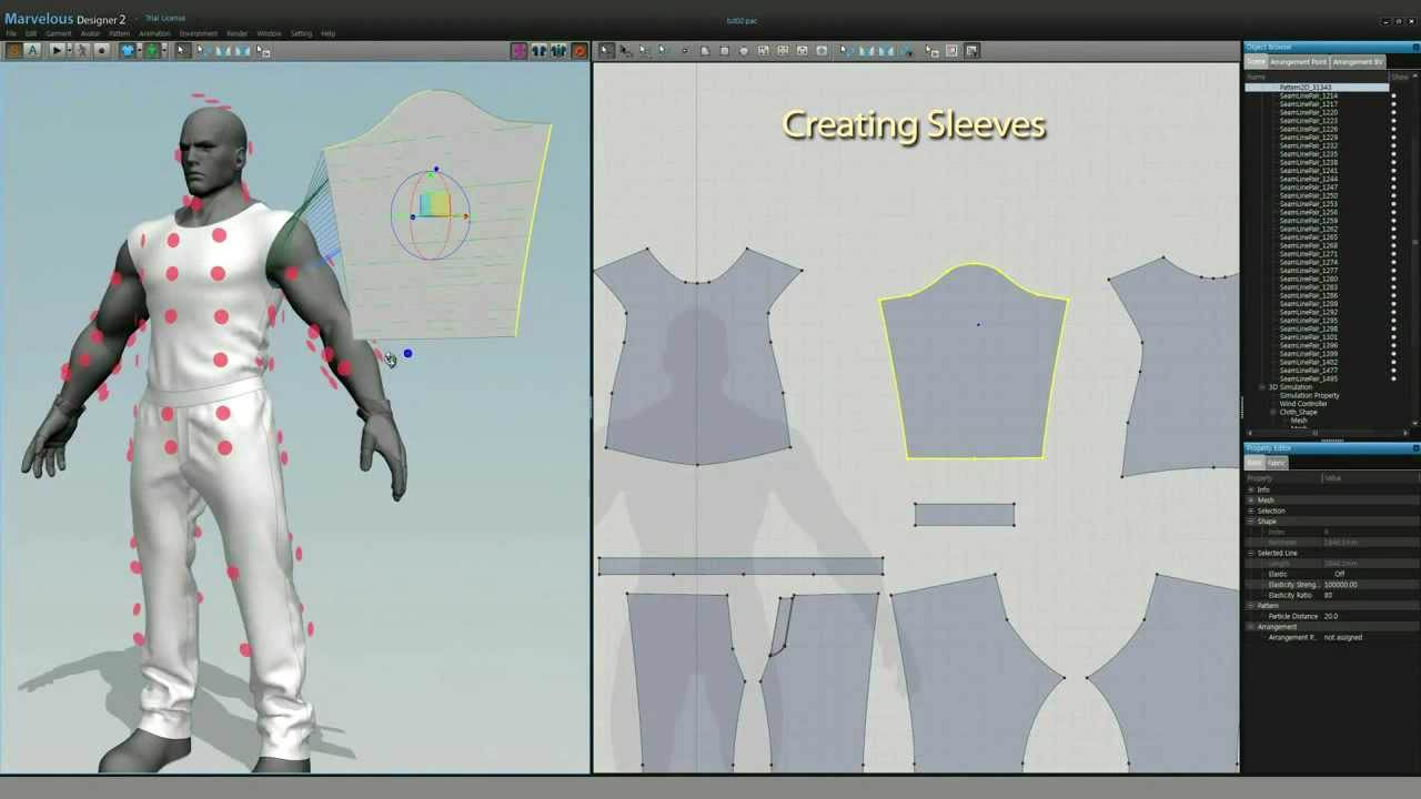 Marvelous Designer picture or screenshot
