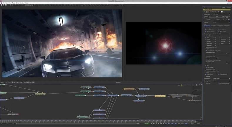 Blackmagic Design Fusion picture or screenshot