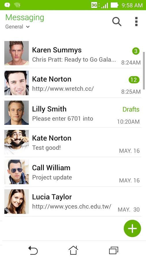 ASUS Messaging picture or screenshot
