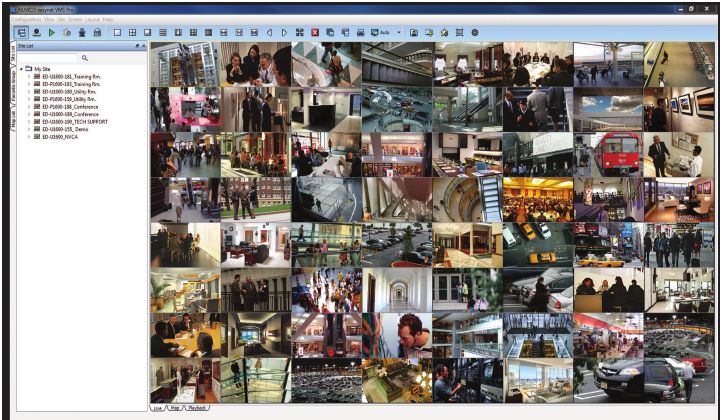 EasyNet-HD VMS picture or screenshot