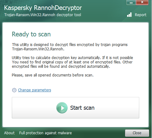 RannohDecryptor picture or screenshot