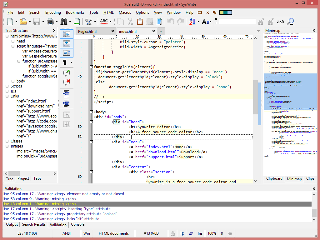 SynWrite picture or screenshot