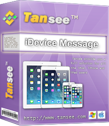 Tansee iPhone/iPad/iPod SMS&MMS&iMessage Transfer picture or screenshot
