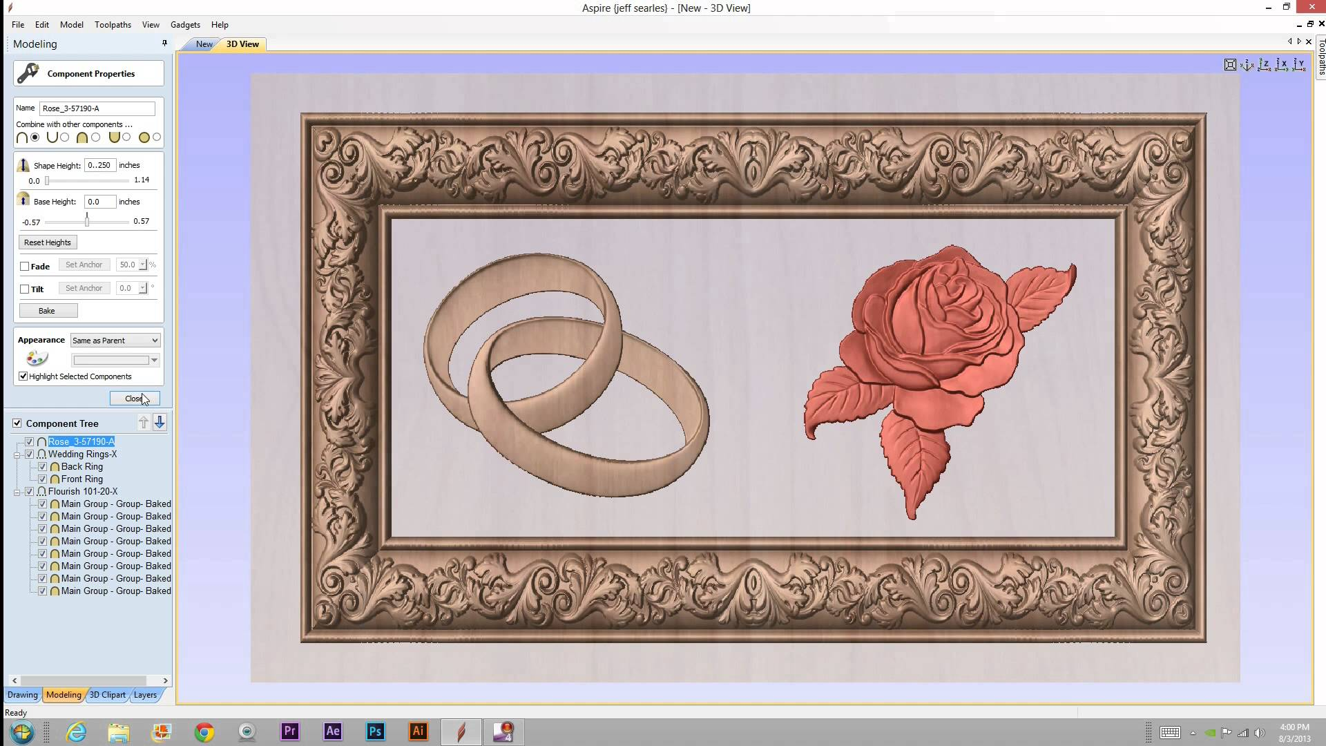 Aspire picture or screenshot