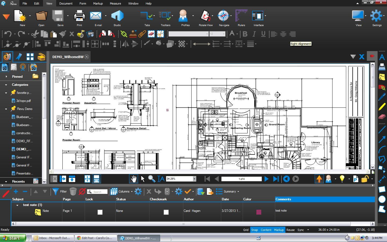 Bluebeam Revu picture or screenshot