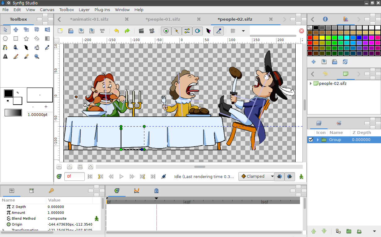 Synfig Studio picture or screenshot