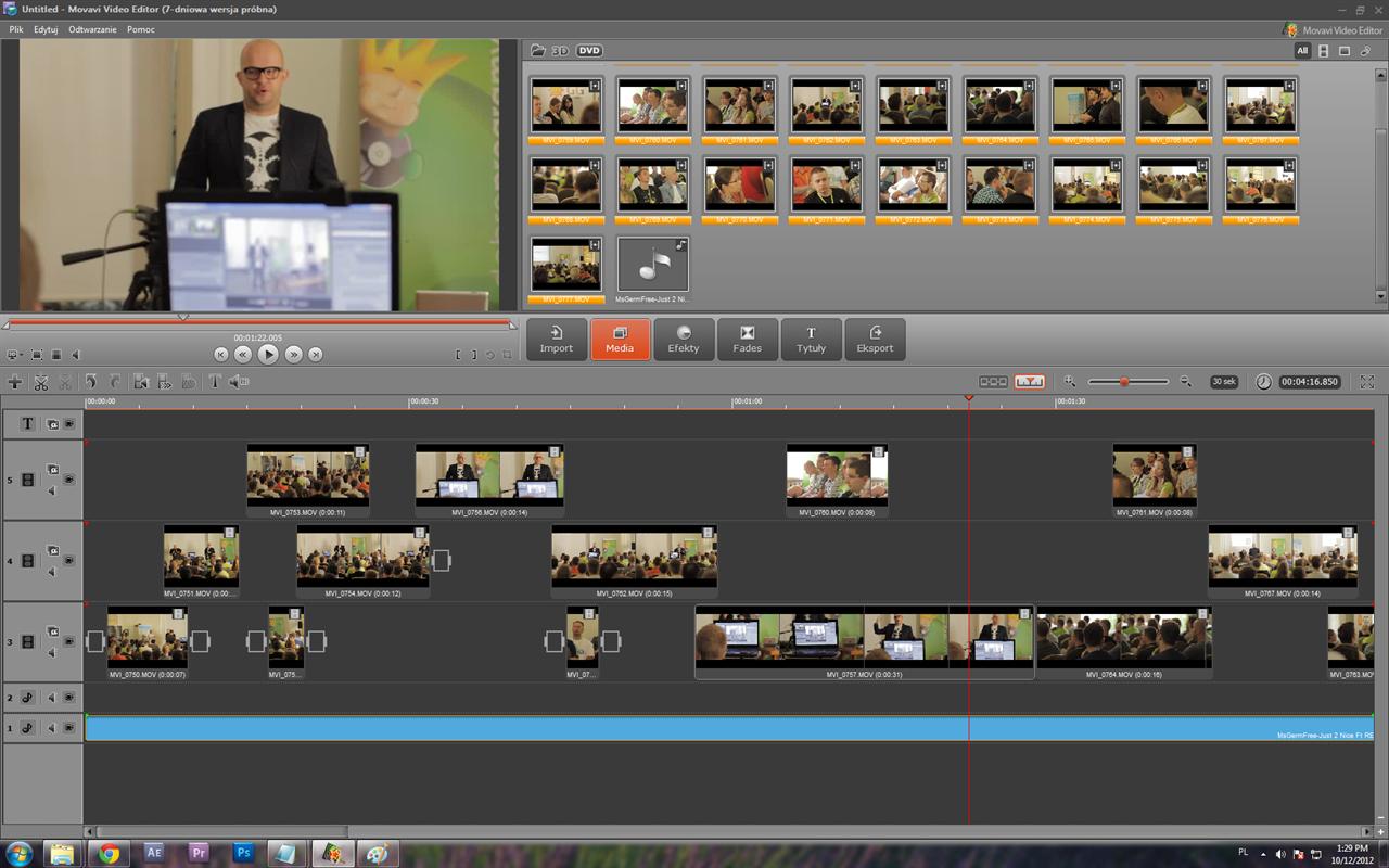 Movavi Video Editor picture or screenshot