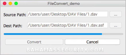 Mac DAV Converter picture