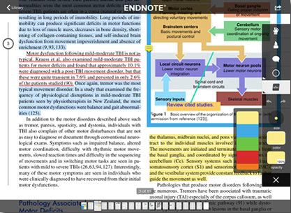EndNote for iPad picture