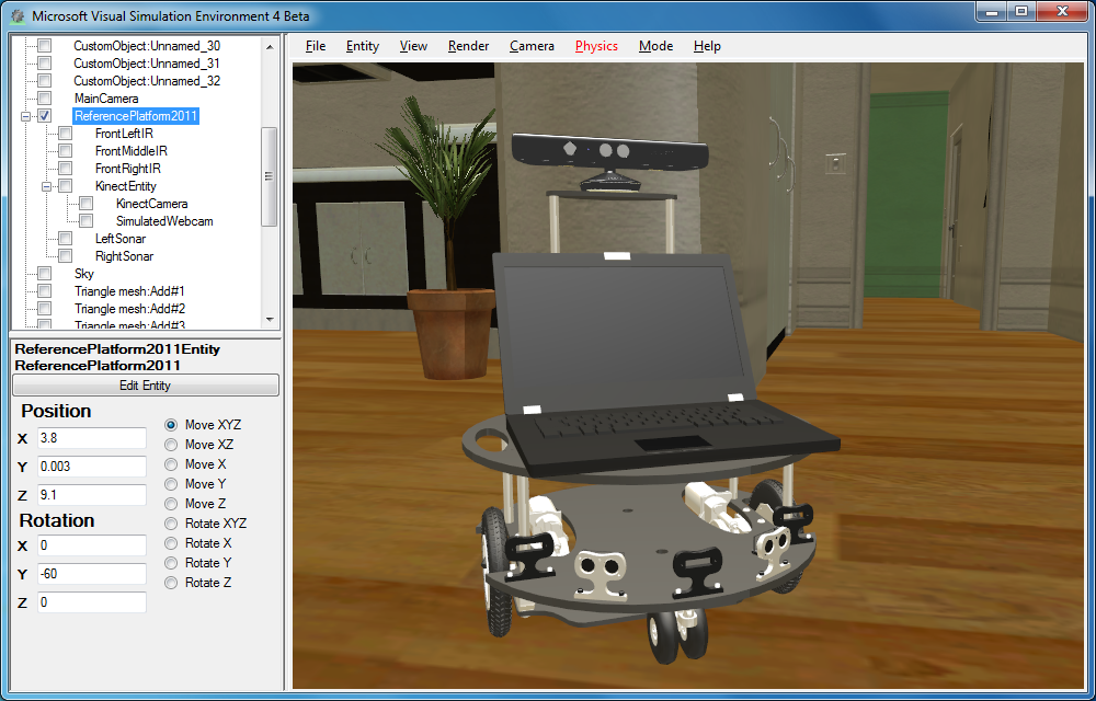Microsoft Robotics Developer Studio picture or screenshot