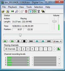 Digital Court Recorder picture or screenshot