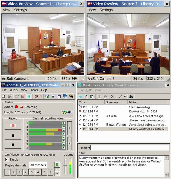 Liberty Digital Court Recorder picture or screenshot
