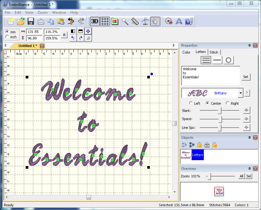 Embrilliance Essentials File Extensions