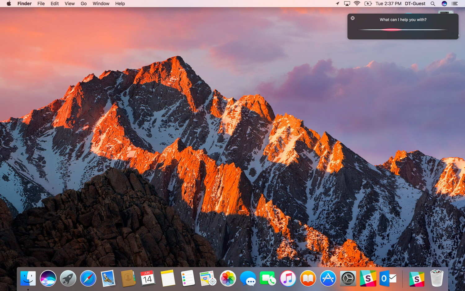 macOS picture