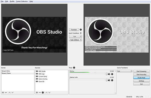 Open Broadcaster Software picture