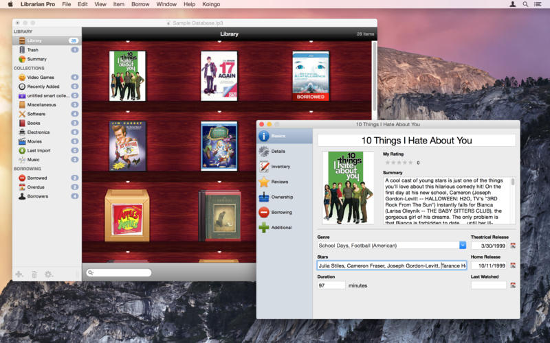 Librarian Pro for Mac picture