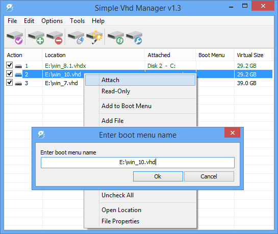 Simple VHD Manager picture