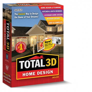 Total 3D Home Design Deluxe picture or screenshot