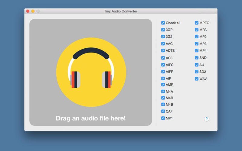 Tiny Audio Converter picture