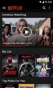 Netflix for Android picture