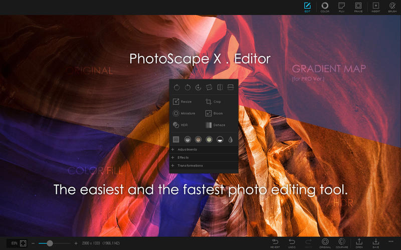 PhotoScape X for Mac picture