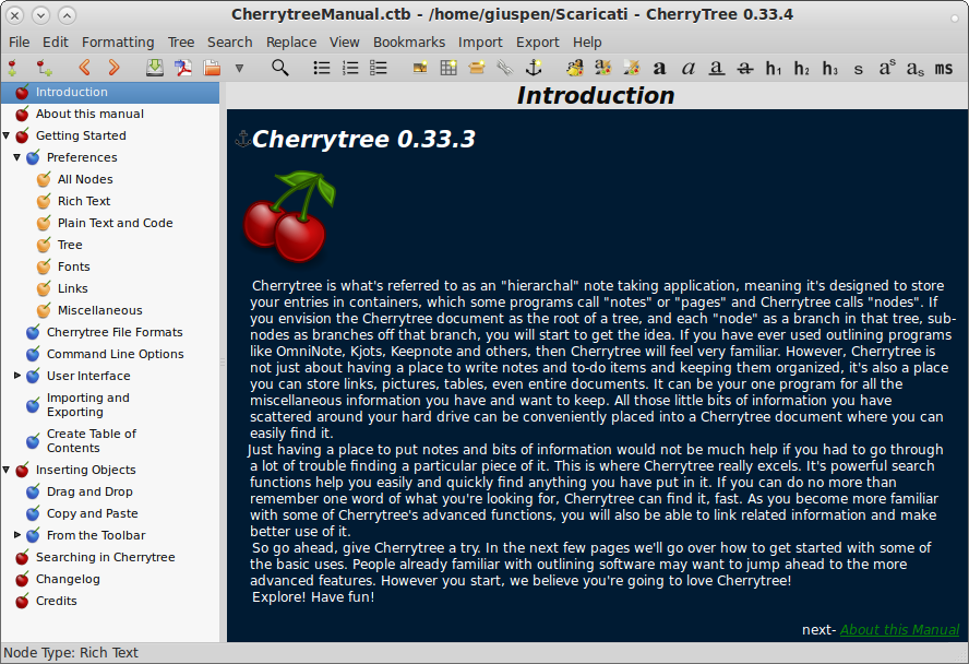 Cherrytree picture