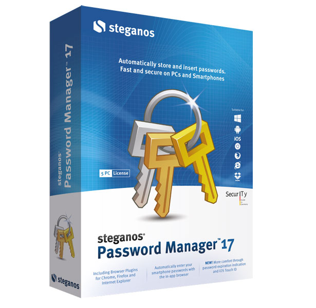Steganos Password Manager picture or screenshot