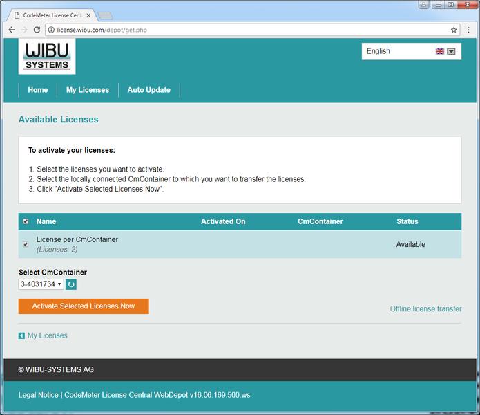 CodeMeter picture or screenshot