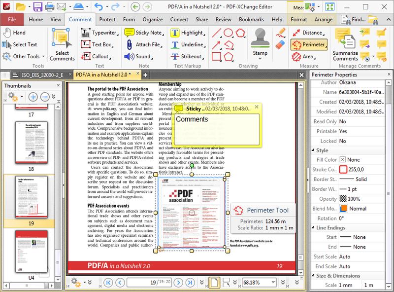 PDF-XChange Editor picture or screenshot