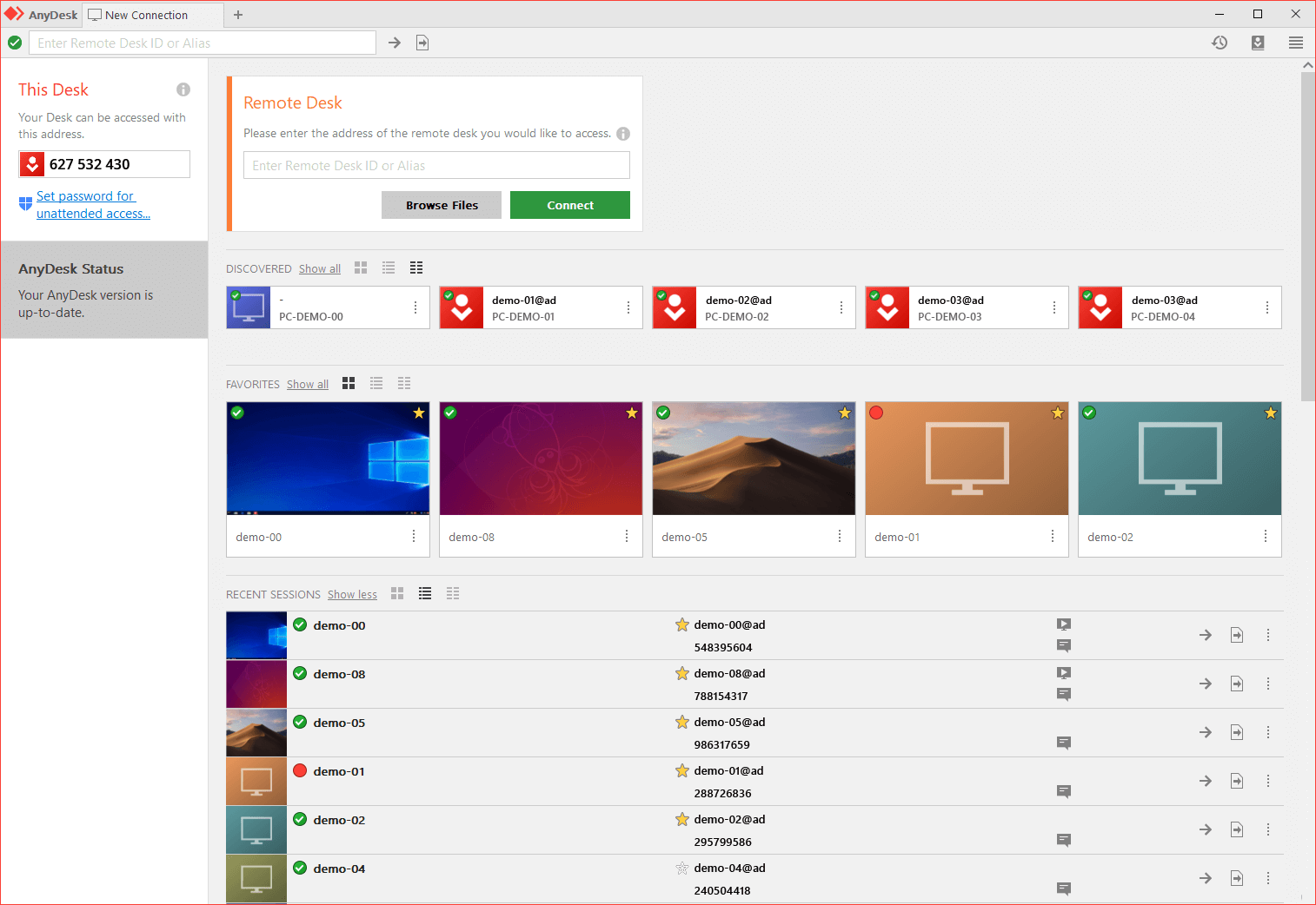 AnyDesk picture or screenshot