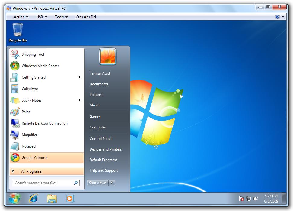 windows virtual pc microsoft virtual pc file extensions