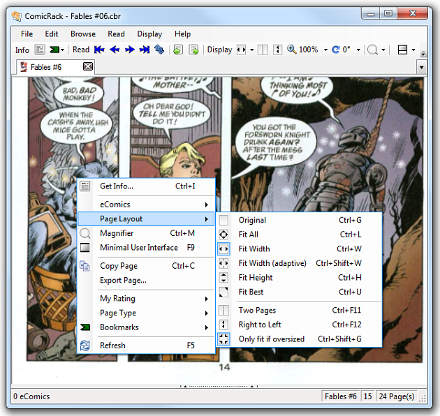 CDisplay Comic Reader picture