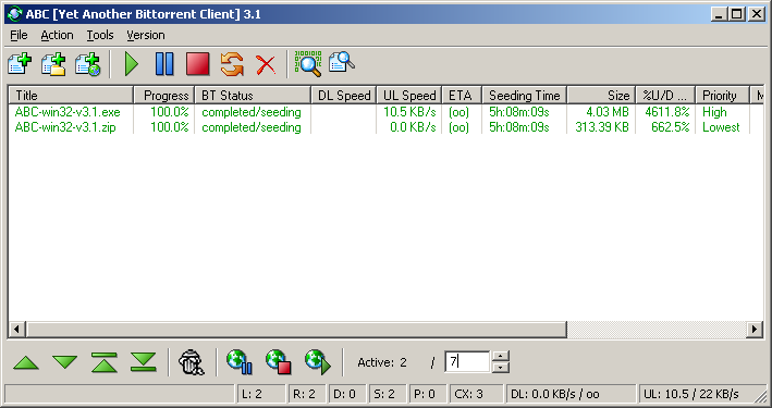 Torrent client for windows - 4a1ce