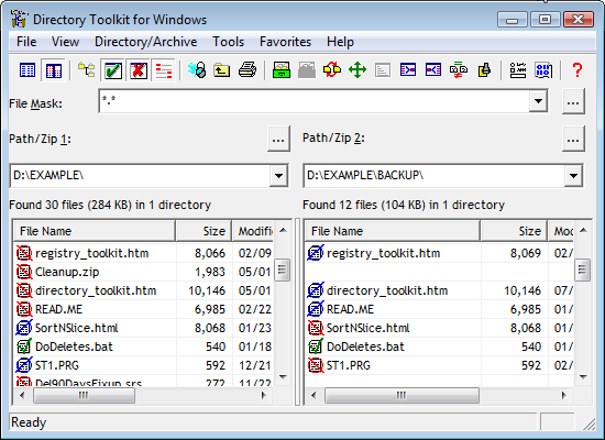 Directory Toolkit picture or screenshot