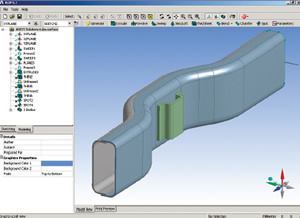 ANSYS DesignModeler picture