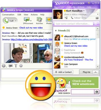 Yahoo! Instant Messenger picture