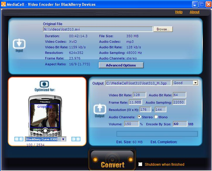MediaCell Video Converter picture