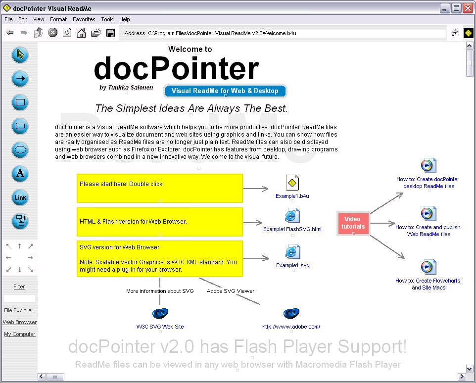 docPointer picture or screenshot