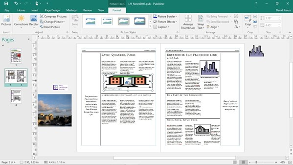 microsoft publisher file extensions