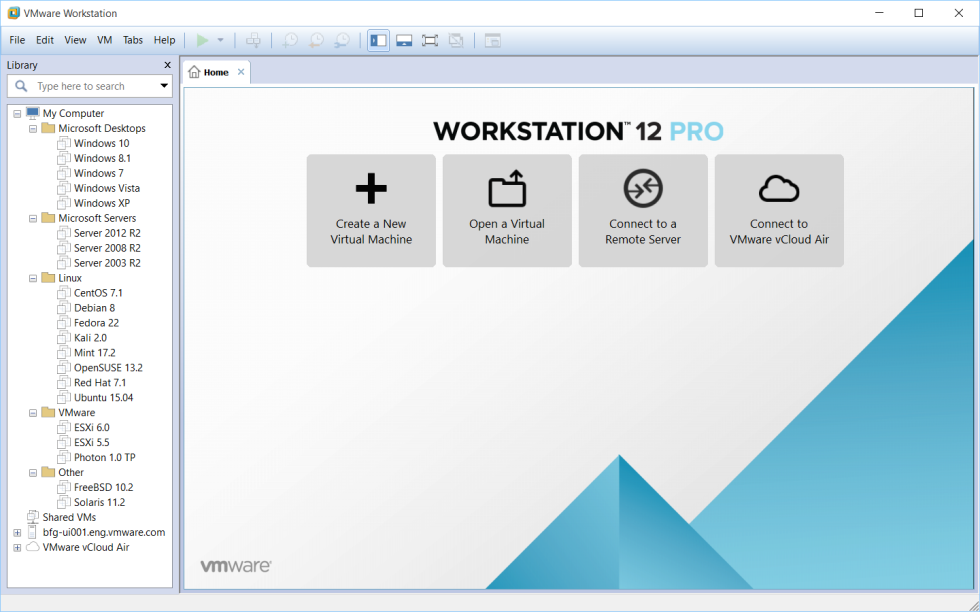 VMware Workstation picture