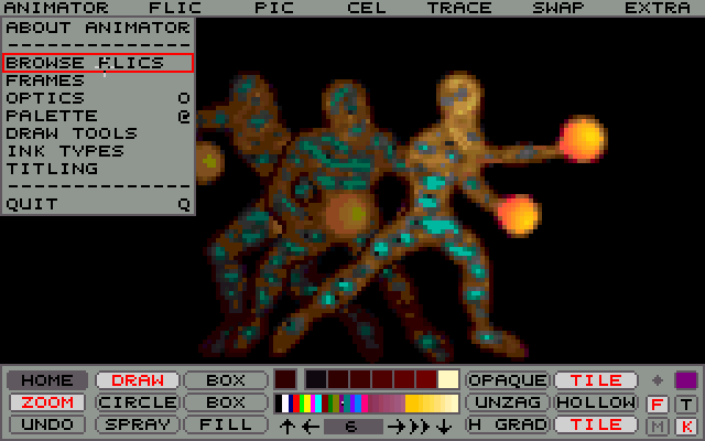 Autodesk Animator picture or screenshot