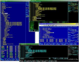 ZTreeWin picture or screenshot