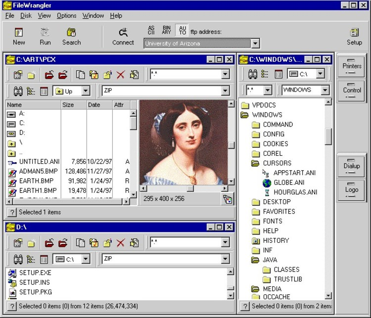 FileWrangler picture or screenshot