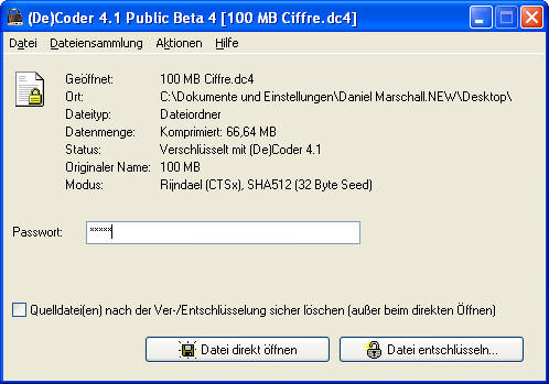 (De)Coder picture or screenshot