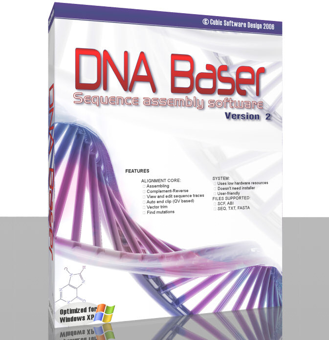DNA Baser Sequence Aligner picture or screenshot