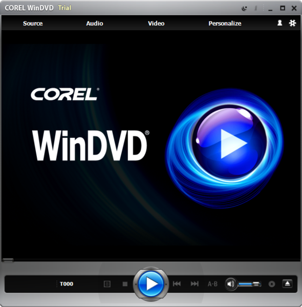 Corel WinDVD picture