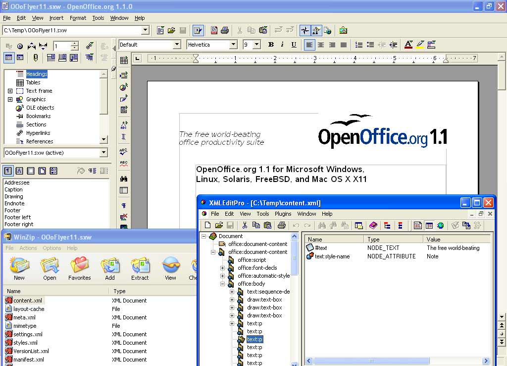 OpenOffice.org ...